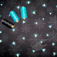 Design ŠD biobavlněný úplet pavoučci