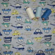 Wendy autíčka modrá (oboulícní úplet)