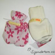 Rukavičky novorozenecké obrázkové