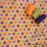 Hilco letní tkaná bavlna letní louka po 1/2 metrech