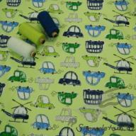 Wendy autíčka zelená (oboulícní úplet)