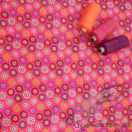 Košilový manšestr design kvetoucí louka - po 1/2 metrech