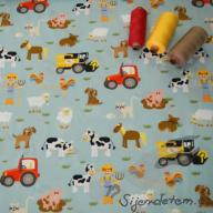 Hilco letní tkaná bavlna farma po 1/2 metrech