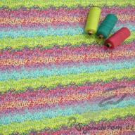 Hilco letní tkaná bavlna rozkvetlá louka po 1/2 metrech
