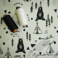 Hilco podčesané medvědí zápisník po 1/2 metrech