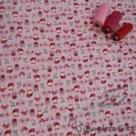 Hilco počesané sovičky růžové po 1/2 metrech
