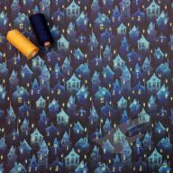 Bavlněný košilový kord potištěný (po 1/2 m)
