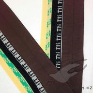 Lemovací gumička 2,5cm (po 1/2 metrech)