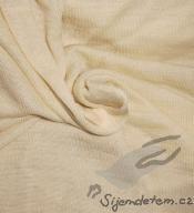 Vlněno-hedvábné žebro