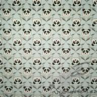Košilový manšestr Hilco pandy na modré - po 1/2 metrech