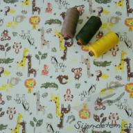 Wendy ZOO barevné (oboulícní úplet)