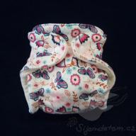 Bambusová plenka ŠD novorozenecká -wendy smetanová louka