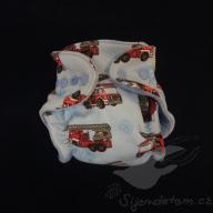Bambusová plenka ŠD novorozenecká - wendy hasiči