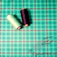 PUL standartní měkký (50x47cm)- káro zelené