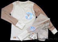 Pyžamko dětské biobavlna srnky