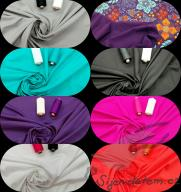 Organic cotton stretch jersey in colors SD