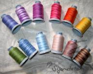 Multicolour thread PS 50/2