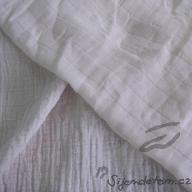 Organic cotton diaper fabric (by 80cm)