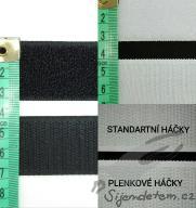 Suchý zip - po 1/2 metrech