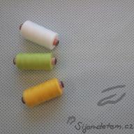 Košilový manšestr design Husté puntíčky na šedomodré - po 1/2 metrech