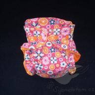 Bambusová plenka ŠD novorozenecká - růžové retro