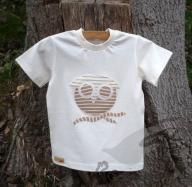 Biobavlněné tričko sovička
