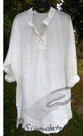 Košile pánská biobavlněný batist bílý
