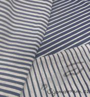 Merino wool stretchy striped